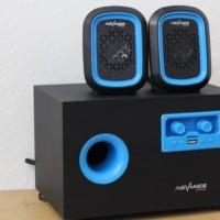 Speaker Aktif Advance Speker Active Duo-600 Multimedia USB Memory Card
