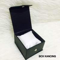 BOX KOTAK JAM TANGAN PRIA WANITA COUPLE JAM PASANGAN HITAM MERAH