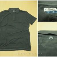 Kaos Kerah Polo Magellan Outdoors Original - Black Stripe
