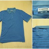 Kaos Kerah Polo Magellan Outdoors Original - Blue Stripe