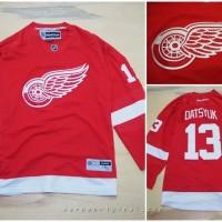 Jersey Hockey Red Wings 13 Datsyuk Original