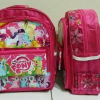 Jual Tas ransel backpack anak sekolah Kuda poni my little pony murah lucu Murah