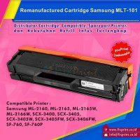 Compatible Toner Cartridge Samsung MLT101 MLT-101 Printer ML-2160 2165
