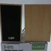 Speaker Aktif Fleco F-015 MultimediaFor Laptop Komputer MEQ18