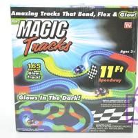Magic Tracks - Trek Mobil-Mobilan 165 Pcs Glows in the Dark