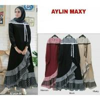 Jual Dress murah Pakaian muslim wanita Grosir baju Aylin maxi