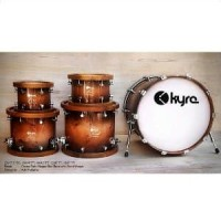 Adri Nidji Finishing Mappa Burl - Drum KYRE 5 Pcs Ex oke Murah