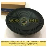 """Speaker Full Range 15 inch 15"""" 15in PA ACR 15900 MKI Premier series"""