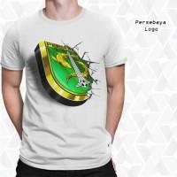 Jual Kaos 3D Logo Persebaya Surabaya |Kaos 3D Indonesia Murah