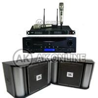 PAKET Sound system Karaoke JBL RMA220 RM10 Pro1 Original Garansi MSI