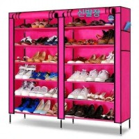 Rack Shoes Organizer Storage Rak Sepatu 7th/ Lemari kain Sepatu Jumbo