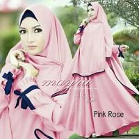 MODEL BARU Gamis Baju Pakaian Wanita Muslim Elsa Syari KUALITAS