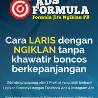 Ads Formula - Formula Jitu Ngiklan Di Fb ( FULL VIDEO HD )