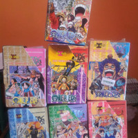 Boxset Paket One Piece 1-10/11-20/21-30/31-40/41-50/51-60/61-70/71-80