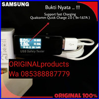 kabel data charger USB Type tipe C Samsung S8 s9 + Plus a5 a7 note 8 9