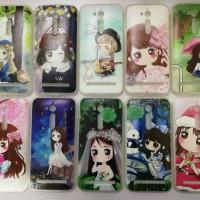 SOFTCASE FASHION KOREA FOR TYPE HANDPHONE VIVO V7 PLUS