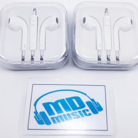 Earbuds/Earbud/Headset/Handsfree Apple Iphone 5 5S 6 6S 6+ With Mic