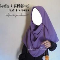 Grosir Hijab Kerudung Jilbab Instan Khimar Bahan Diamond Kode K512-d