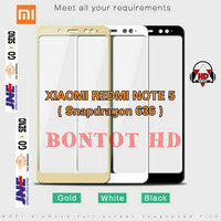 Tempered Glass 9h Xiaomi Redmi Note 5 Pro / Note5 5.99 Full Layar Hp