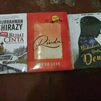 Paket 3 Novel New Bumi Cinta, Rindu, Bidadari Untuk Dewa
