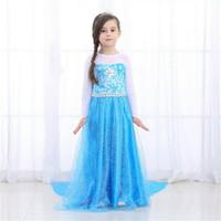 Gaun Pesta anak elsa frozen / Dress pesta anak 431