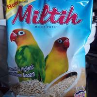 Miltih Milet Putih Pakan Burung Lovebird dari Ebod Jaya