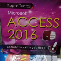 Kupas tuntas microsoft access 2016