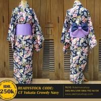 BAJU Setelan Yukata Kimono Kostum Wanita Jepang Cosplay- Yukata