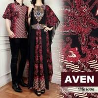 Kemeja TERBARU Couple AVENA Baju Kemeja + Gamis Maxi