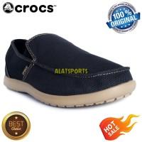Sepatu Sneaker Pria Crocs Santa Cruz Clean Cut Loafer 202972-4BM Navy