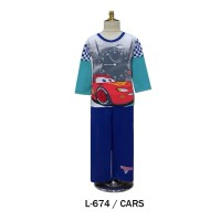 Piyama The Cars Blue Big Size Murah