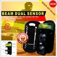 Dual Beam Alarm laser sensor Keamanan Gudang Rumah Toko Berkualitas