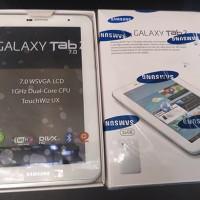 Samsung Galaxy Tab 2 7.0 - 16GB Putih Mulus Second Bahasa Indonesia