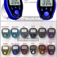 Tasbih Digital LED JAM ATAU Finger Counter LED JAM TASBIH SKU-2007