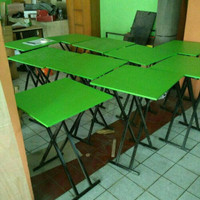 Meja lipat/meja makan/meja restoran/meja kafe