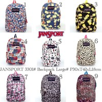 Tas Ransel Jansport BIG 3301 Besar Large Backpack XL Pria Wanita