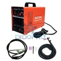 Harga mesin las argon inverter listrik titan trafo las tig 160 | Pembandingharga.com