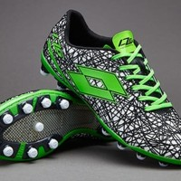 Sepatu Bola Lotto original Zhero Gravity VII 200 FG Mint Fluo S1207