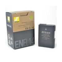 Baterai Nikon EN-EL14 for Df, D3100, D3200, D3300, D5100, D5200, D5300