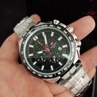 Jam Tangan Pria Swiss Army dhc+ Original garansi 1thn