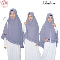 Khimar Khalwa Free Bros Pita Hijab Syari Original by Sarah Hijab