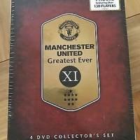 DVD Original Manchester United Greatest Evere IX - 4 DISC - non sealed