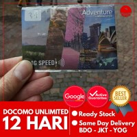 SIMCARD JEPANG DOCOMO 12 HARI UNLIMITED | Japan Simcard Kartu Data