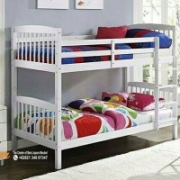 PROMO Tempat tidur tingkat bed susun divan sorong duco ranjang jati 4