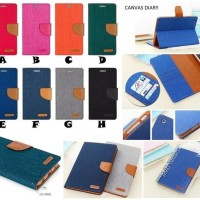 SARUNG Canvas Diary Original for SAMSUNG TAB 3 V/T116 & TAB A 7