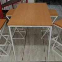 Meja makan meja cafe resto bar meja kantor meja minimalis industrial