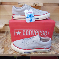 Sepatu Converse One Star Pro Ox Undefeated S Grey Premium BNIB