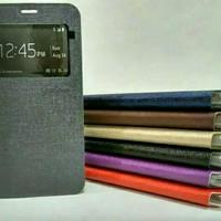 Vivo Y28 Ume Flip Cover Case Flipcase FlipCover Casing Hp Bkn Hardcase