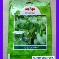 Bibit 1 Pack 2000 Benih Sayur Hidroponik Sawi Tosakan Cap Panah Merah