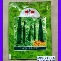 Bibit 1 Pack 20 Benih Sayuran Gambas Oyong Azura F1 Cap Panah Merah